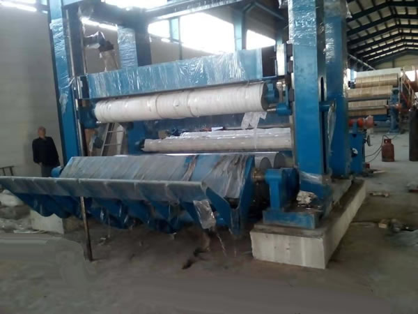 Overview of paper coater